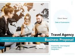 Travel Agency Business Proposal Powerpoint Presentation Slides