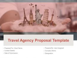 Travel Agency Proposal Template Powerpoint Presentation Slides