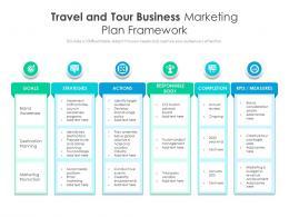 Travel And Tour Business Marketing Plan Framework
