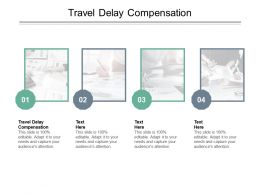Travel Delay Compensation Ppt Powerpoint Presentation Ideas File Formats Cpb