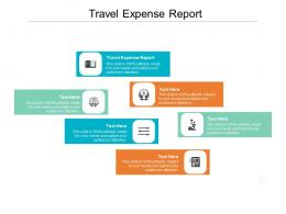 Travel Expense Report Ppt Powerpoint Presentation Inspiration Background Image Cpb