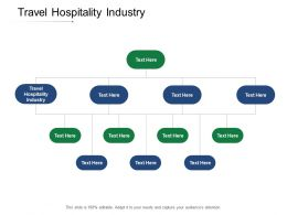 Travel Hospitality Industry Ppt Powerpoint Presentation Visual Aids Infographic Template Cpb