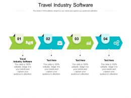 Travel Industry Software Ppt Infographic Template Graphics Tutorials Cpb