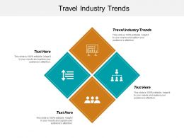 Travel Industry Trends Ppt Powerpoint Presentation Infographics Graphics Template Cpb