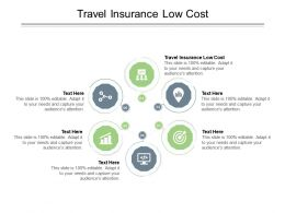 Travel Insurance Low Cost Ppt Powerpoint Presentation Infographics Introduction Cpb