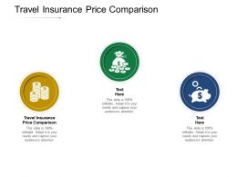 Travel Insurance Price Comparison Ppt Powerpoint Presentation Pictures Topics Cpb