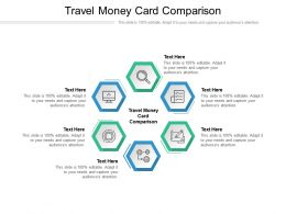 Travel Money Card Comparison Ppt Powerpoint Presentation Professional Icons Cpb