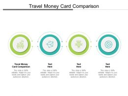 Travel Money Card Comparison Ppt Powerpoint Presentation Show Rules Cpb