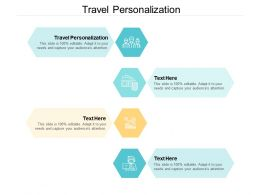 Travel Personalization Ppt Powerpoint Presentation Show Slideshow Cpb
