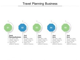 Travel Planning Business Ppt Powerpoint Presentation Professional Cpb