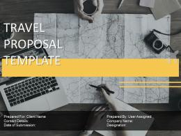 Travel Proposal Template Powerpoint Presentation Slides