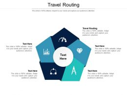Travel Routing Ppt Powerpoint Presentation Gallery Gridlines Cpb