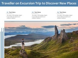 Traveller On Excursion Trip To Discover New Places