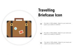 Travelling Briefcase Icon