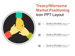 Treacy Wiersema Market Positioning Icon Ppt Layout
