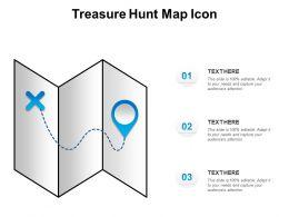 Treasure Hunt Map Icon