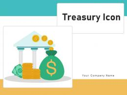 Treasury Icon Currency Document Dollar Protect Secure Department