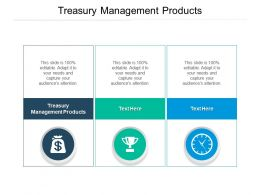 Treasury Management Products Ppt Powerpoint Presentation Example Cpb