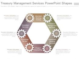 Treasury Management Services Powerpoint Shapes