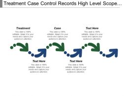 Treatment Case Control Records High Level Scope Management