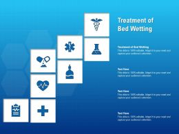 Treatment Of Bed Wetting Ppt Powerpoint Presentation Infographic Template Objects
