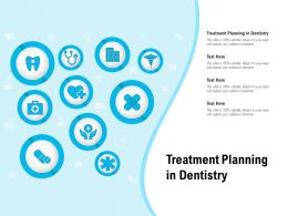 Treatment Planning In Dentistry Ppt Powerpoint Presentation Portfolio Tips
