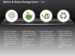 Tree Apple Recycle Symbol Water Ppt Icons Graphics