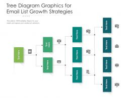 Tree Diagram Graphics For Email List Growth Strategies Infographic Template