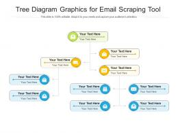 Tree Diagram Graphics For Email Scraping Tool Infographic Template