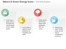 Tree Fuel Pump Factory Green Energy Ppt Icons Graphics