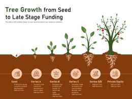 Tree Growth From Seed To Late Stage Funding