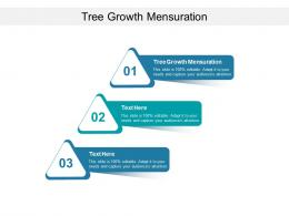 Tree Growth Mensuration Ppt Powerpoint Presentation Model Show Cpb