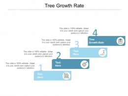 Tree Growth Rate Ppt Powerpoint Presentation Summary Visual Aids Cpb