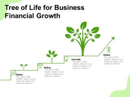 Tree Of Life For Business Financial Growth