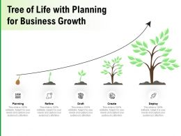 Tree Of Life With Planning For Business Growth