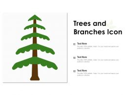 Trees And Branches Icon