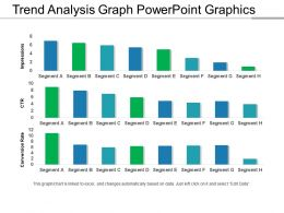 Trend Analysis Graph PowerPoint Graphics