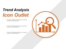 Trend Analysis Icon Outlet PowerPoint Guide