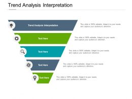 Trend Analysis Interpretation Ppt Powerpoint Presentation File Graphics Pictures Cpb