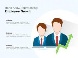 Trend Arrow Representing Employee Growth