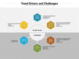 Trend Drivers And Challenges