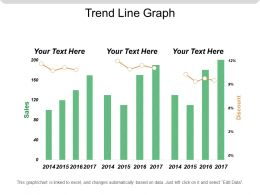 Trend Line Graph Powerpoint Ideas
