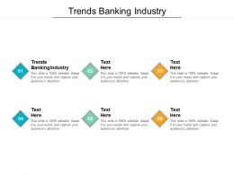 Trends Banking Industry Ppt Powerpoint Presentation Infographics Portfolio Cpb