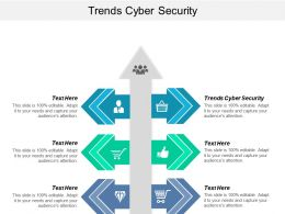 Trends Cyber Security Ppt Powerpoint Presentation Styles Background Image Cpb