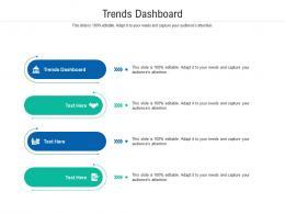 Trends Dashboard Ppt Powerpoint Presentation Deck Cpb