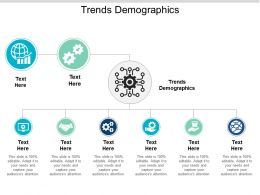 Trends Demographics Ppt Powerpoint Presentation Styles Guidelines Cpb