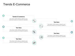 Trends E Commerce Ppt Powerpoint Presentation Model Graphics Design Cpb