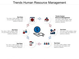 Trends Human Resource Management Ppt Powerpoint Presentation Inspiration Background Cpb