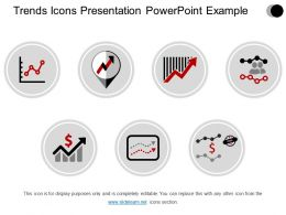 Trends Icons Presentation Powerpoint Example