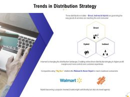 Trends In Distribution Strategy Ppt Powerpoint Presentation Summary Graphics